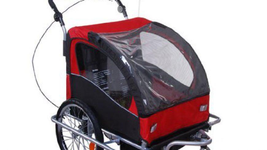 fahrradsitz gegen fahrradanhänger