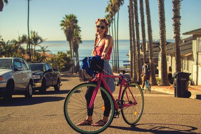 Fahrradschlauch und Fahrradmantel
